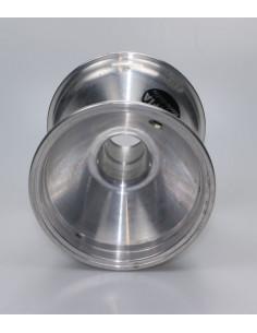 Kart velg 125mm aluminium met schroef